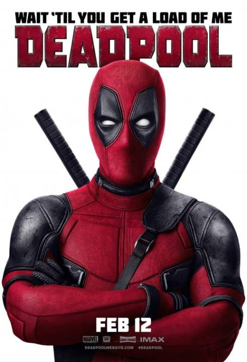 deadpool movie poster