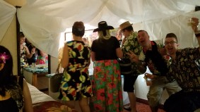 FYRE in Paradise Room Party!