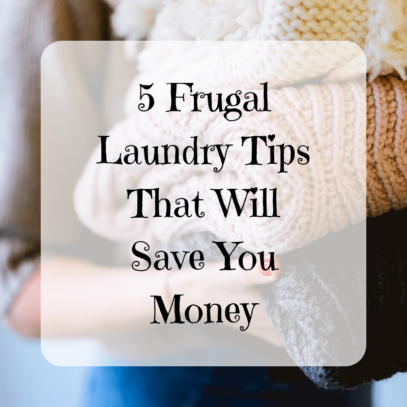 5 Frugal Laundry Tips That Will Save You Money