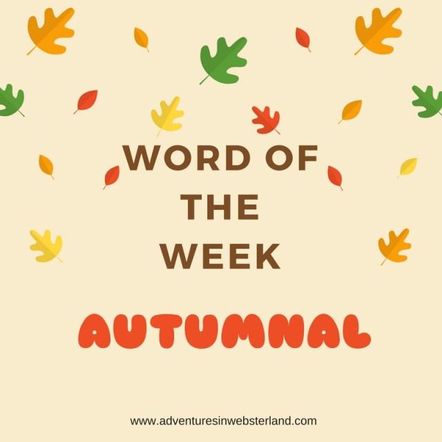 WORD OF THE WEEK (4)