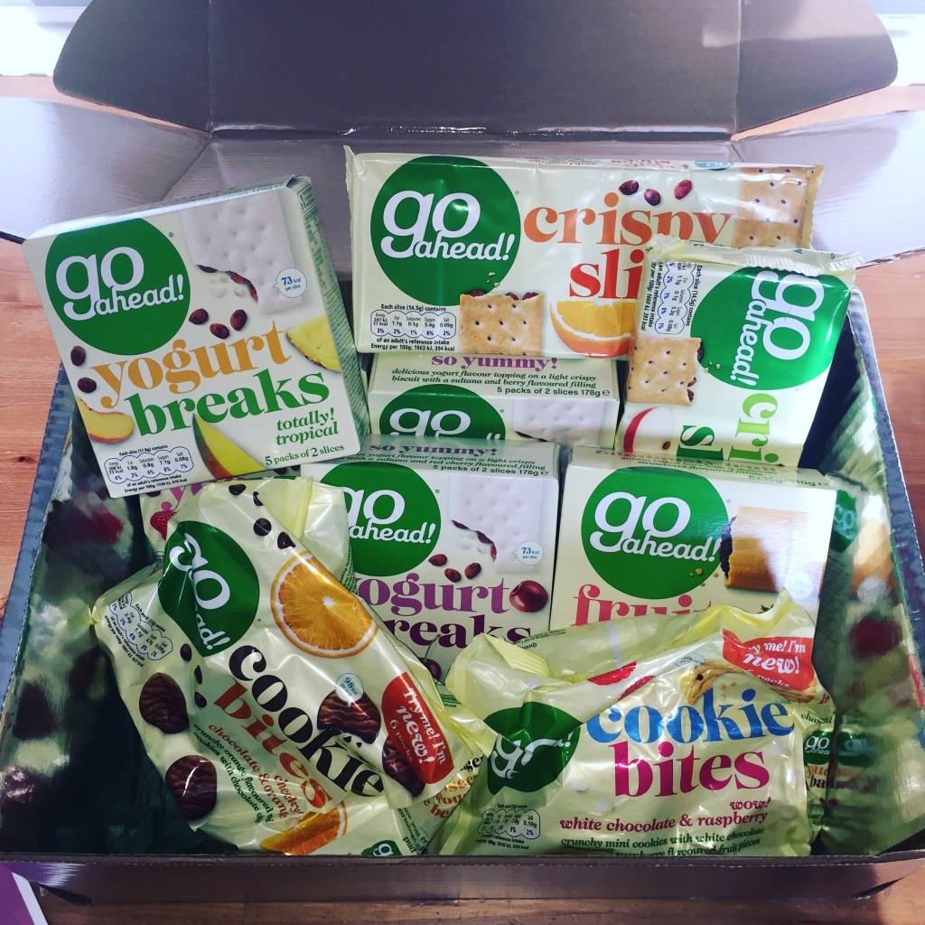 Go Ahead! #SnackSmart Review