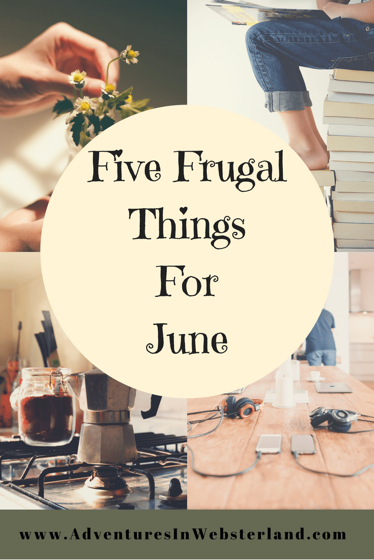 Five Frugal Things For June