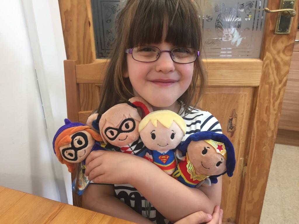 Hallmark Itty Bittys Super Hero Girls Review & Giveaway