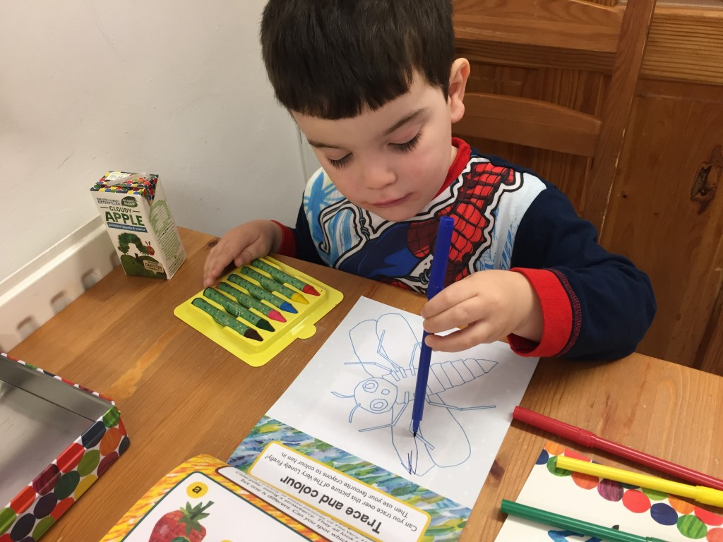 Wriggle Into Autumn With The Very Hungry Caterpillar {New Range Review}