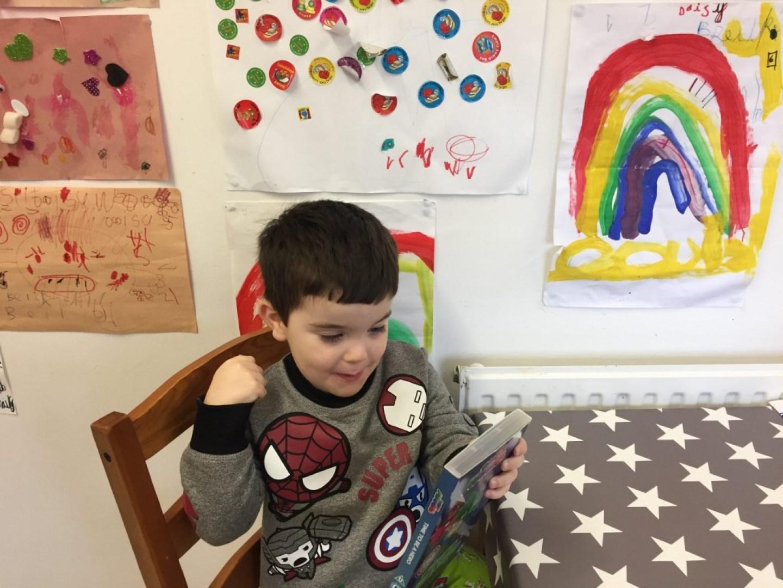 boy reading pj masks time to be a hero dvd case