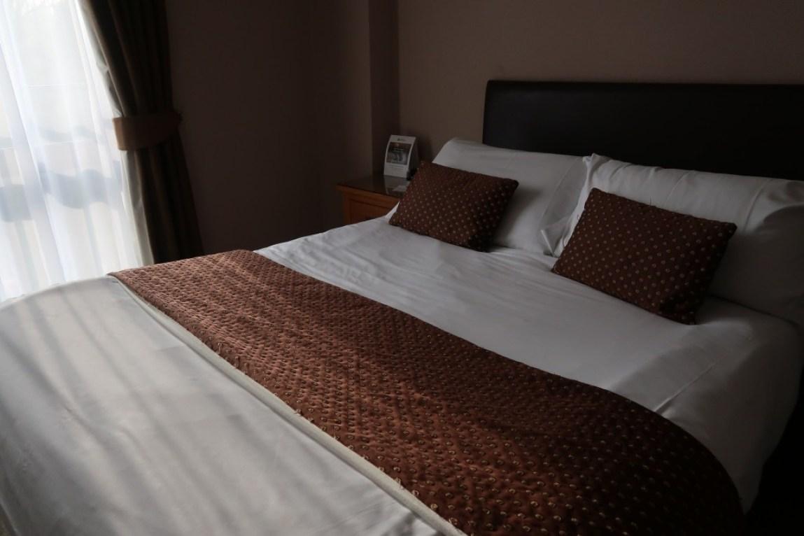 standard double bedroom park hall hotel
