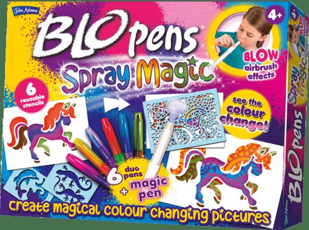 John Adams Blo Pens Spray Magic {Giveaway}