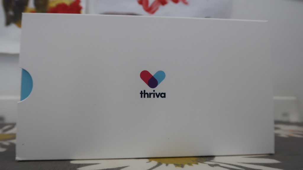 Thriva Baseline Home Blood Test Kit {Review & Giveaway}