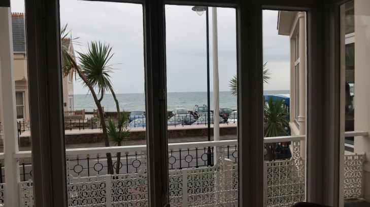 view from lounge Ommaroo Hotel In Jersey
