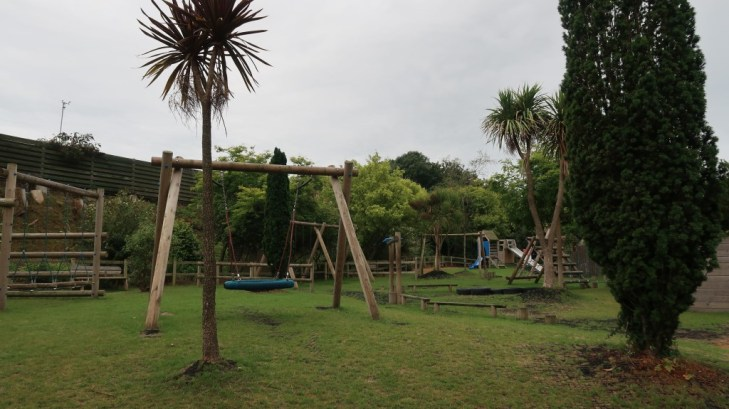 outdoor play area Tamba Park Jersey