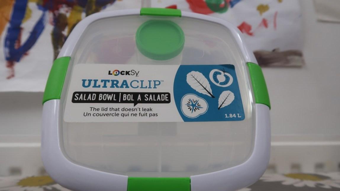 locksy ultraclip salad bowl