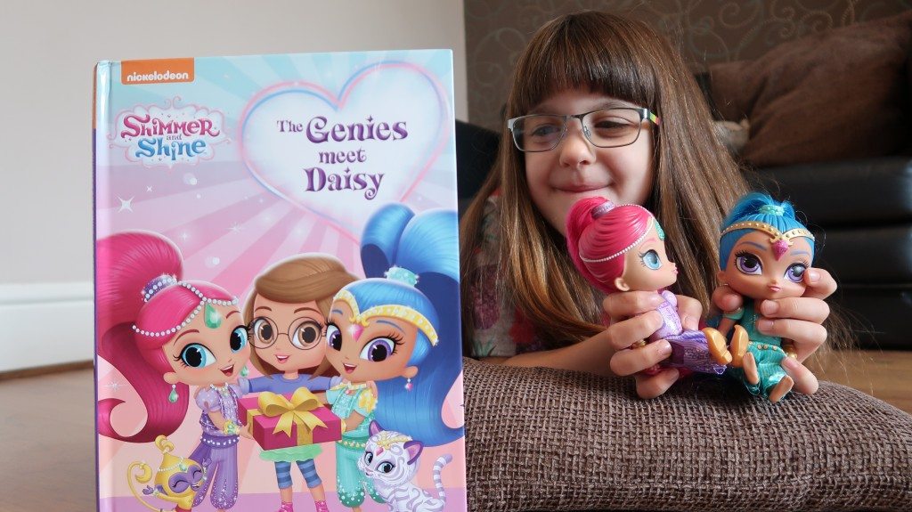 Penwizard Personalised Shimmer & Shine Book {Review}
