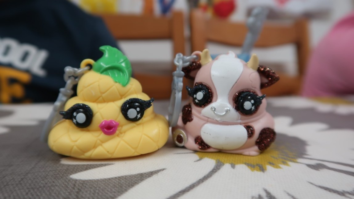 Poopsie slime surprise key chains