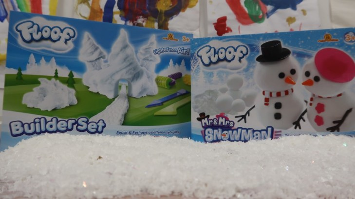Floof builder set & Mr & Mrs Snowman
