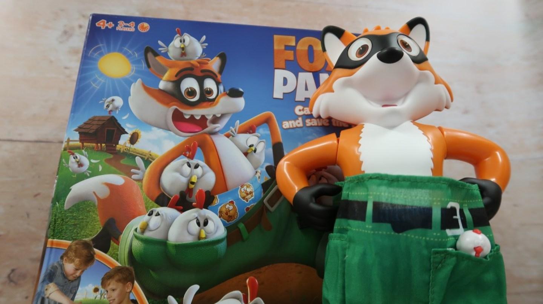 foxy pants and box