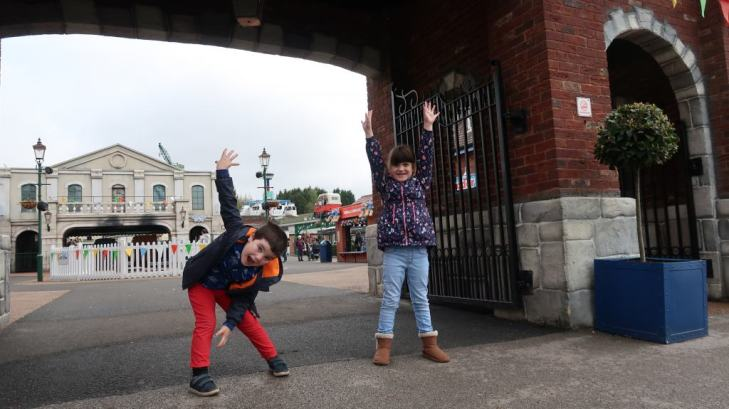 kids at Drayton Manor