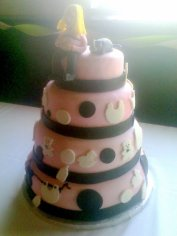 4 Tier Baby Shower