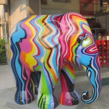 In aid of the Elephant Foundation, # colour factory