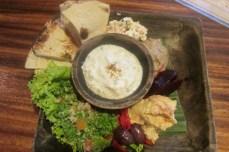 Mezzé platter at Kafe