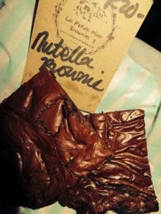 The guys who make my number one brownie! La Petite Moo Brownie