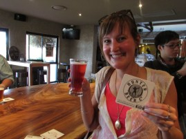 Blueberry Beer - antioxidants and a beer in one! Great idea there.