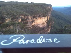 Someone had scribbled paradise at the view point for the national pass and they have it spot on.