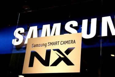 The Samsung lineup of NX Smart Cameras