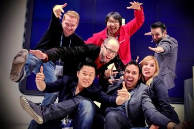 The Samsung Presentation Crew - Chris, Haksu, Florin, Austin, Me, Dario & Christina