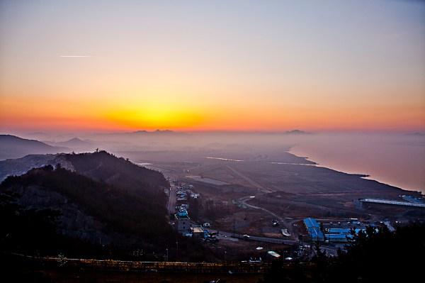 South Korea's Formula 1 Racetrack at Dawn -- photo by Konstantinos Kazantzoglou -- http://grphototraveller.wordpress.com/