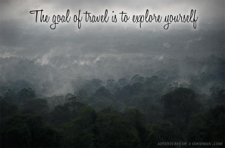 The Goal of Travel