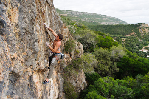 Rock Climbing in Portugal - photo by Jorge Bras - http://jorgebras.com/