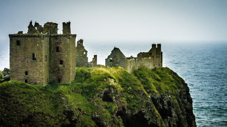 Dunnottar Castle - Photograph by Darcy