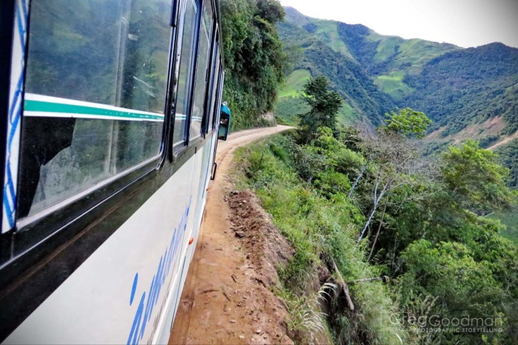 Finally, after six perilous hours on this bus, we arrived in Vilcabamba: well after dark and left on the side of the road...