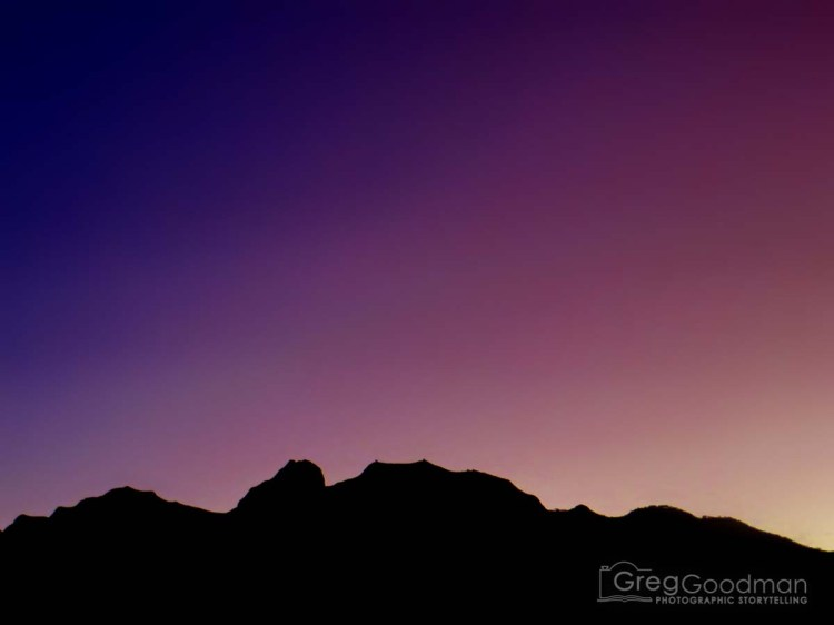 Three days later, we would be treated to this majestic sunset in Vilcabamba, Ecuador.