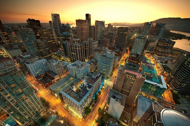 Vancouver from above - photo by Magnus Larsson