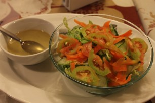 Fresh salad produce
