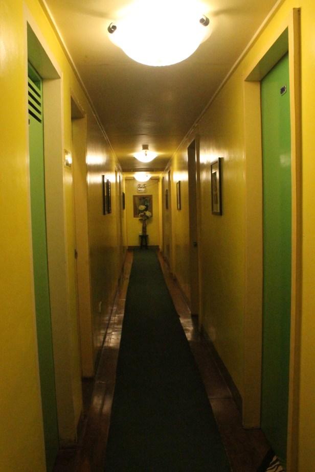 Hallway through the second floor