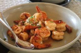 Sautee'd shrimps