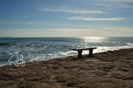 beach in rota, spain