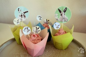 easter cupcakes pastell