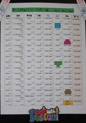 CIM Training Plan 001