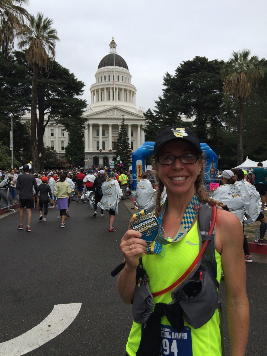 California International Marathon 2015 - a Race Report!!! with a Lot!!! of Exclamation Points!!!