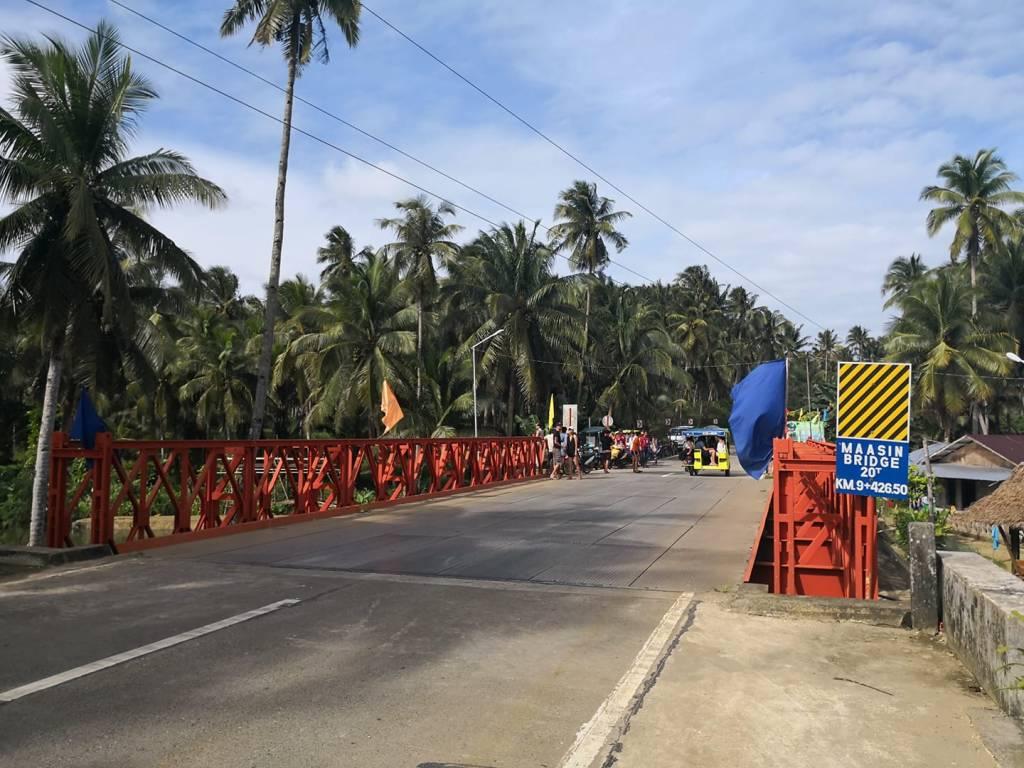 The Red/Orange Bridge in Siargao