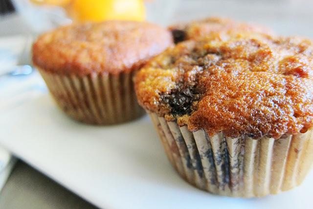 Paleo Blueberry Orange Muffins, Adventures of a Sick Chick
