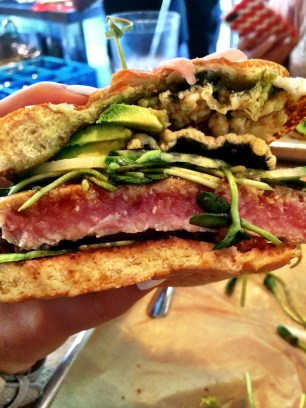 Hopdoddy's Ahi Tuna Burger