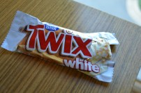 Life is complete white chocolate twix for the chocolate hater