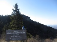Devil's Courthouse, Blue Ridge Parkway