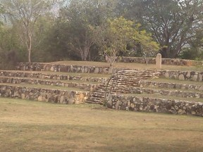 Stella, Tehuacalco archeological site, Mexico
