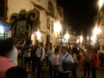 Lenten procession, Taxco de Alarcon, Mexico