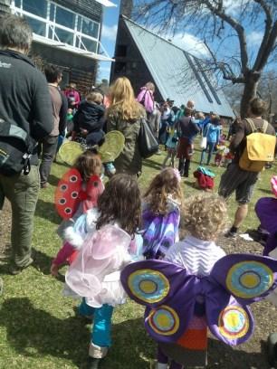 Spring butterfly festival, Audubon Society, Portland Maine